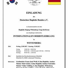 Internationaler Herbstlehrgang